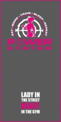 POWER SYSTEM Osuška BENCH TOWEL WOMAN'S PS-7003