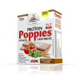 Amix  Protein Crisp Bread Poppies 100g